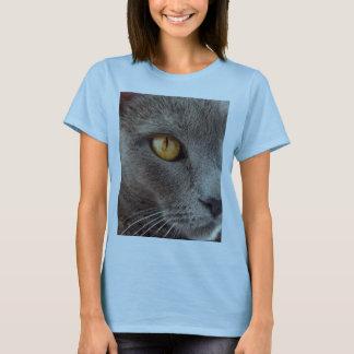 Camiseta T-shirt do olho de gato