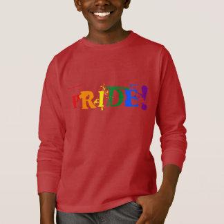 Camiseta T-shirt do orgulho do arco-íris de LGBT