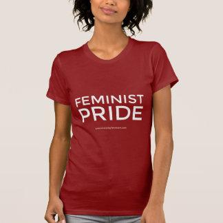 """Camiseta """"T-shirt do orgulho feminista"""""""