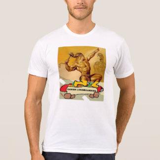 Camiseta T-shirt do original de Longboarding do dinamarquês