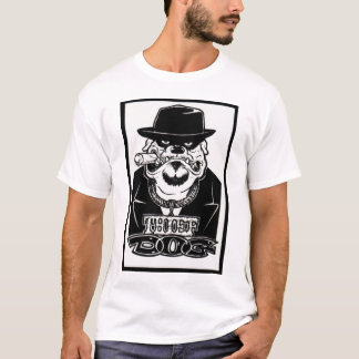 Camiseta T-shirt do padre alto da Dinamarca do ladrão