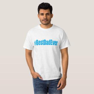 Camiseta T-shirt do pai de Hashtag o melhor nunca. .png