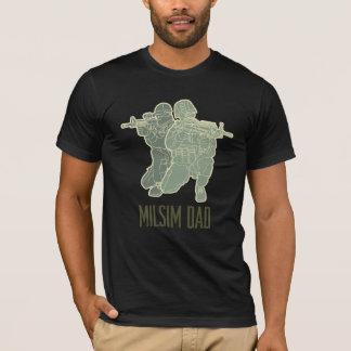 Camiseta T-shirt do pai de Milsim