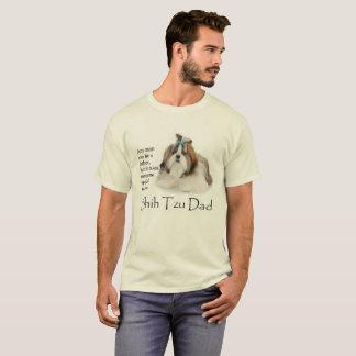 Camiseta T-shirt do pai de Shih Tzu