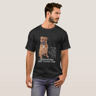 Camiseta T-shirt do pai de Staffie