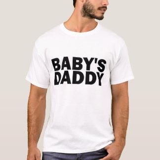Camiseta T-shirt do pai do bebê