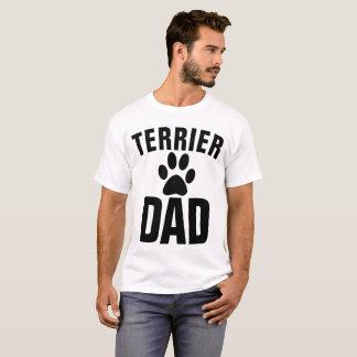 Camiseta T-shirt do PAI do CÃO de TERRIER