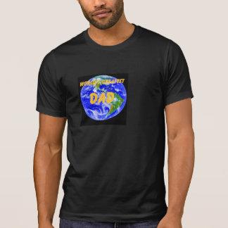 Camiseta T-shirt do pai do mundo o grande!