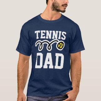 Camiseta T-shirt do PAI do tênis para o pai - presente do