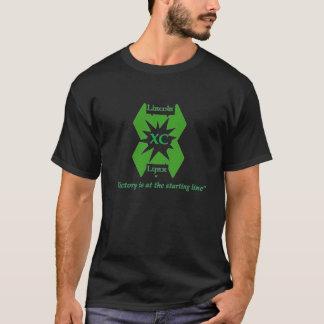 Camiseta T-shirt do país transversal do lince de Lincoln