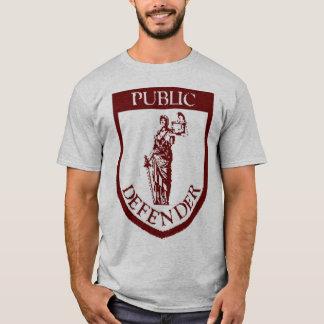Camiseta T-shirt do paládio - obscuridade - vermelho no