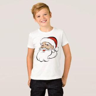 Camiseta T-shirt do papai noel para o miúdo