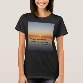 Camiseta T-shirt do pára-quedas