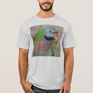 Camiseta T-shirt do Parakeet de Moustached