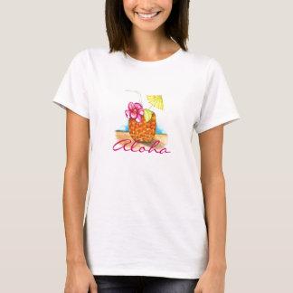 Camiseta T-shirt do partido de Luau