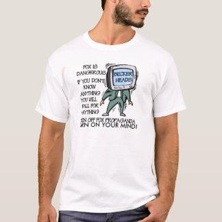 Camiseta t-shirt do partido do anti-chá
