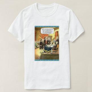 Camiseta T-shirt do parvo da constituição
