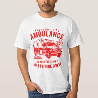 Camiseta T-shirt do passeio da emergência