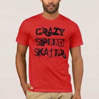 """Camiseta """"T-shirt do patinador louco da velocidade"""""""