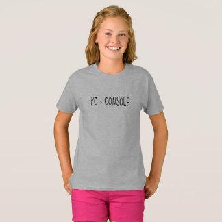 Camiseta T-shirt do PC > do console