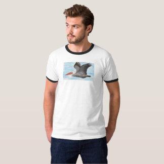 Camiseta T-shirt do pelicano de Brown
