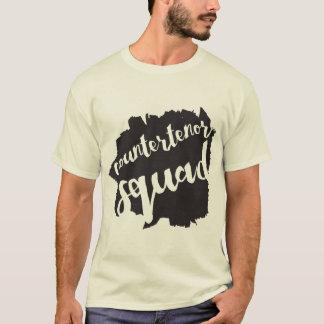 Camiseta t-shirt do pelotão do countertenor
