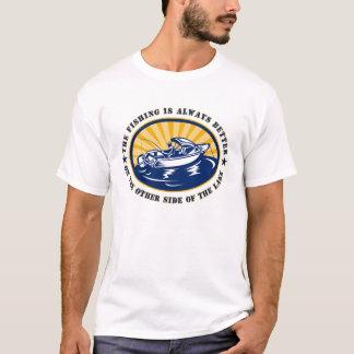 Camiseta T-shirt do pescador dos homens