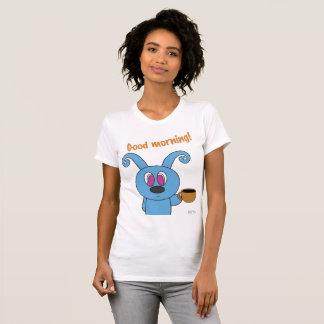 Camiseta T-shirt do pescoço de grupo das mulheres de Rolly