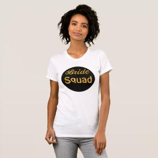 Camiseta T-shirt do pescoço de grupo das mulheres do