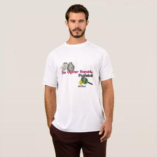 Camiseta t-shirt do pickleball da república da ostra para o
