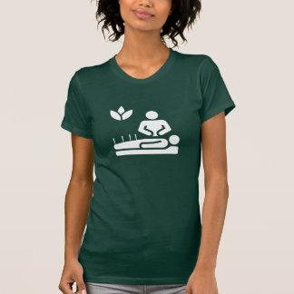 Camiseta T-shirt do pictograma da medicina alternativa