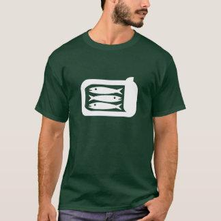 Camiseta T-shirt do pictograma das sardinhas