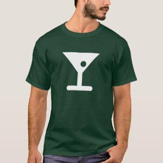 Camiseta T-shirt do pictograma de Martini