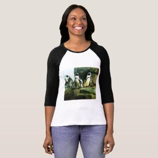 Camiseta T-shirt do pinguim das mulheres