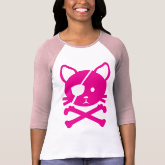 Camiseta T-shirt do pirata do gato