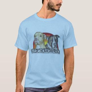 Camiseta T-shirt do pitbull - logotipo para o vale do cão