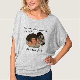 Camiseta T-shirt do planador do açúcar