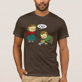 Camiseta T-shirt do playtime de Masha e de Sasha Yozhin -