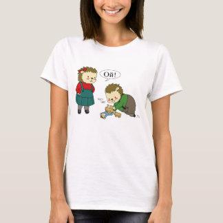 Camiseta T-shirt do playtime de Masha e de Sasha Yozhin