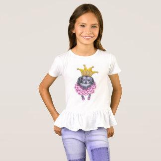 T-shirt do plissado de Winkie