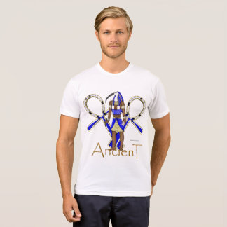 Camiseta T-shirt do Poli-Algodão dos homens antigos de