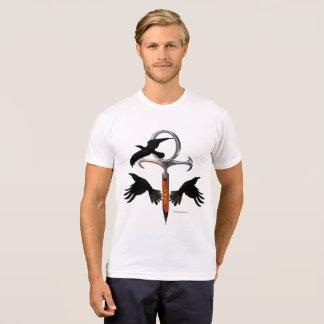 Camiseta T-shirt do Poli-Algodão dos homens de Ankh do