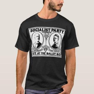 Camiseta T-shirt do poster da campanha de Eugene Debs