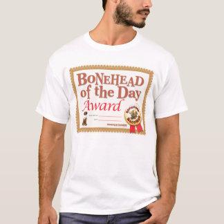 Camiseta T-shirt do prêmio do Bonehead