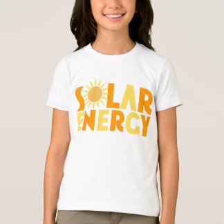 Camiseta T-shirt do presente da energia solar
