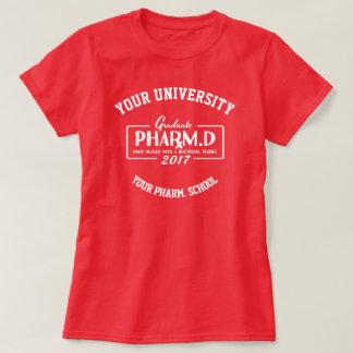 Camiseta T-shirt do presente da graduação da escola da