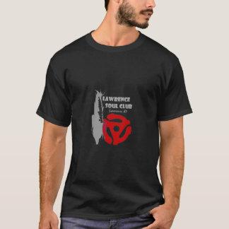 Camiseta T-shirt do preto do clube da alma de Lawrence