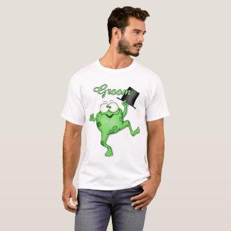 Camiseta T-shirt do príncipe Feliz Preparação Casamento do