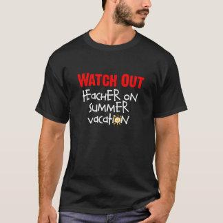 Camiseta T-shirt do professor das férias de verão