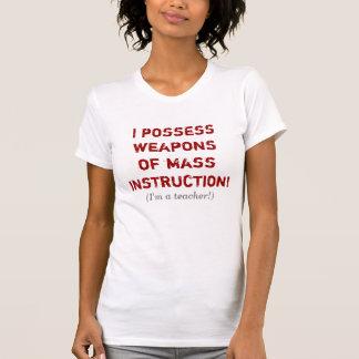 Camiseta T-shirt do professor de WMI